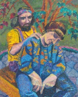 a healer in every family - painting by Barbara Helynn Heard