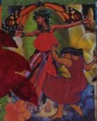 collage - dancer