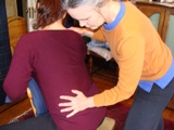 lomi - seated spinal twist